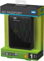 Western Digital My Passport 1TB USB 3.0 2.5 inch  Black
