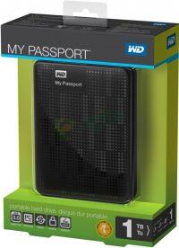 Western Digital My Passport 1TB USB 3.0 2.5 inch  Black
