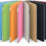 Apple Ipad Smart Cover Polyurethaan Lichtgrijs