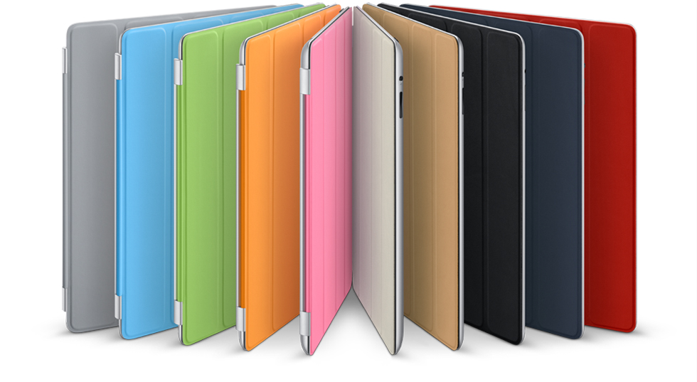 Apple Ipad Smart Cover Polyurethaan Lichtgrijs