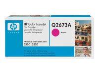 HP Color Laserjet 3500 toner magenta Q2673A
