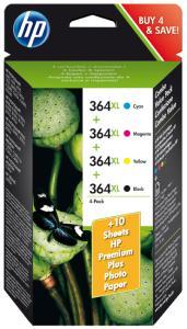 HP Nr364XL MultiPack  (B / Y / C / M) 39ml (Origineel) 47429