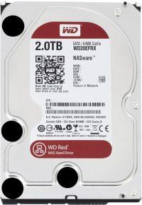 Western Digital RED 2.0TB 64MB SATA harddisk
