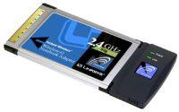 Linksys Wireless-G Notebook Adapter WPC54G