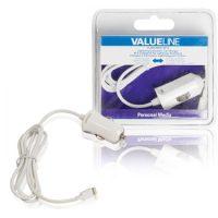 Valueline Apple Car Charger Lightning (1 meter)