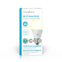 Nedis Wi-Fi smart LED-lamp Full-Colour en Warm-Wit E27