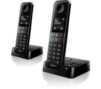 Philips D4752B DECT-telefoon Zwart Nummerherkenning