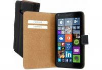 Mobiparts Premium Wallet Case Lumia 640 Black