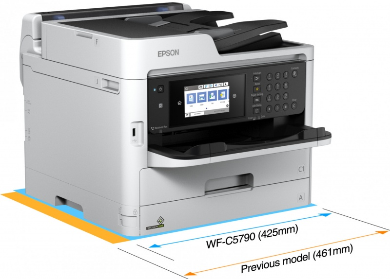 Epson WorkForce Pro WF-C5790DWF inktjet multifunctional
