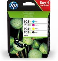 HP 903XL Origineel Zwart, Cyaan, Magenta, Geel 4 stuk(s)