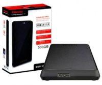 Toshiba Canvio Basics 500GB USB 3.0  2.5 inch  Black