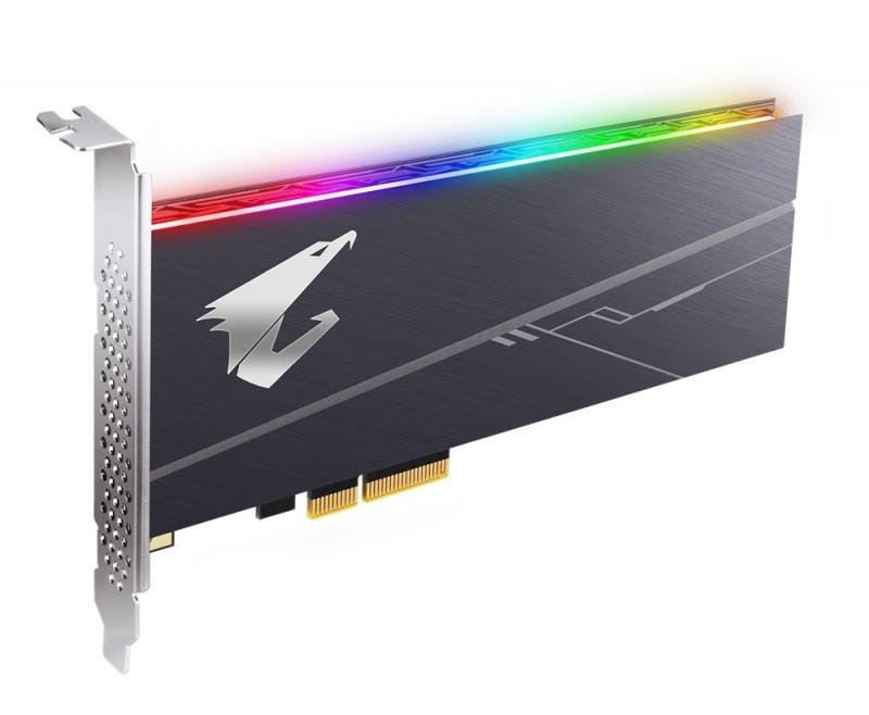 Gigabyte Aorus RGB AIC NVMe 1TB SSD PCIe