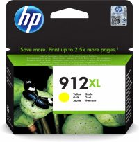 HP 912XL originele high-capacity gele inktcartridge