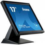 iiyama ProLite T1731SAW-B5 touch screen-monitor 43,2 cm (17 inch ) 1280 x 1024 Pixels Zwart