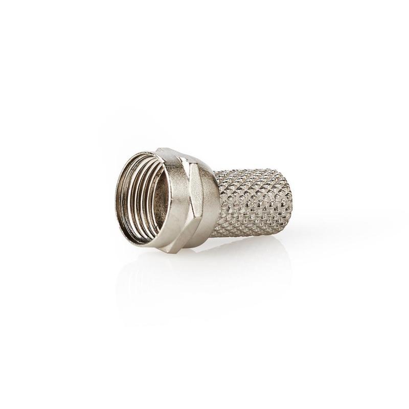 F-connector Mannelijk Voor 7,0mm-coaxkabels Metaal