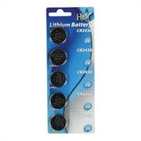 Knoopcell CR2430 batterij 3V
