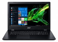 Acer Aspire 3 A317-51G-58JL Notebook Zwart 43,9 cm (17.3 inch ) 1920 x 1080 Pixels Intel® 10de generatie Core™ i5 8 GB DDR4-SDRAM 1512 GB HDD+SSD NVIDIA® GeForce® MX250 Wi-Fi 5 (802.11ac) Windows 10 Home