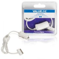 Valueline Apple Car Charger 30-pin (1 meter)
