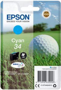 Epson 34 Cyaan