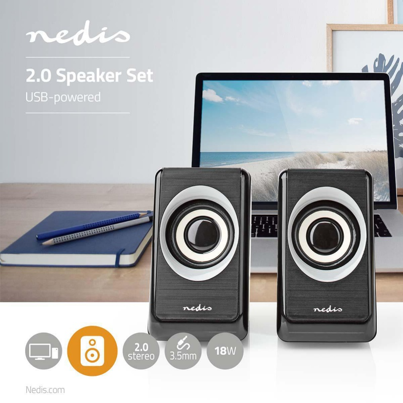 Nedis PC-Speaker  2 | 18 W
