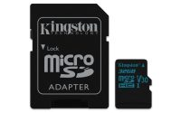 Kingston Canvas Plus! 32GB MicroSDHC + adapter