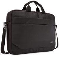 Case Logic Advantage ADVA-117 Black notebooktas 43,9 cm (17.3 inch ) Opbergmap / sleeve Zwart