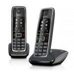 Siemens Gigaset C530 Duo twee VoIP-telefoons