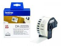 DK22225 BROTHER PT QL550 PAPER30,48mx38mm white STK