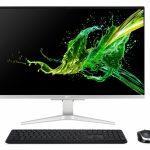 Acer Aspire C27-1655 I5624 NL 68,6 cm (27 inch ) 1920 x 1080 Pixels Intel® 11de generatie Core™ i5 16 GB DDR4-SDRAM 1000 GB SSD Alles-in-één-pc NVIDIA GeForce MX330 Windows 10 Home Wi-Fi 5 (802.11ac) Zwart, Zilver