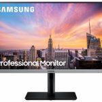 Samsung LS24R650FDU LED display 60,5 cm (23.8 inch ) 1920 x 1080 Pixels Full HD Zwart, Grijs