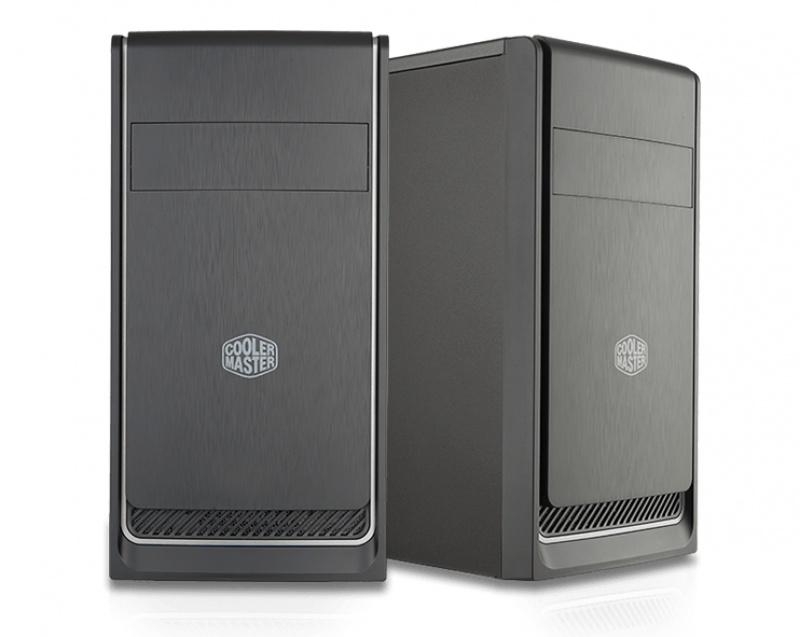 Cooler Master MasterBox E300L Mini-Toren Zwart, Zilver