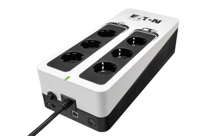 Eaton 3S 550 DIN 550VA 6AC-uitgang(en) UPS