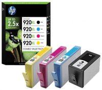HP nr 920XL Multipack BK / C / M / Y 50190 C2N92AE