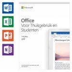 Microsoft Office 2019 voor thuisgebruik en studenten 1 PC / Mac