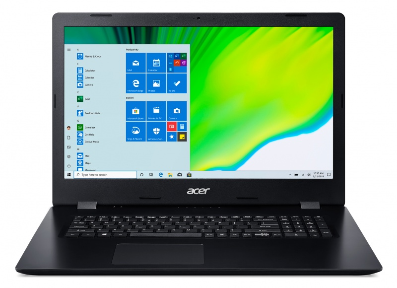 Acer Aspire 3 A317-52-38MJ Notebook Zwart 43,9 cm (17.3 inch ) 1600 x 900 Pixels Intel® 10de generatie Core™ i3 8 GB DDR4-SDRAM 512 GB SSD Wi-Fi 5 (802.11ac) Windows 10 Home