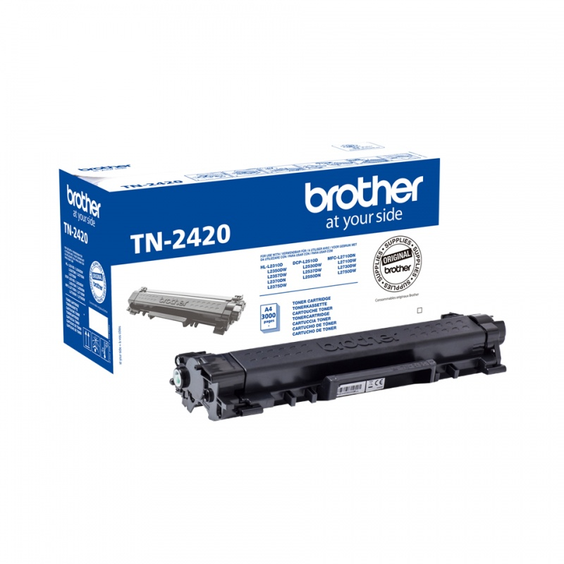 Brother TN-2420 toner zwart 3.000 paginas (Origineel) 55793