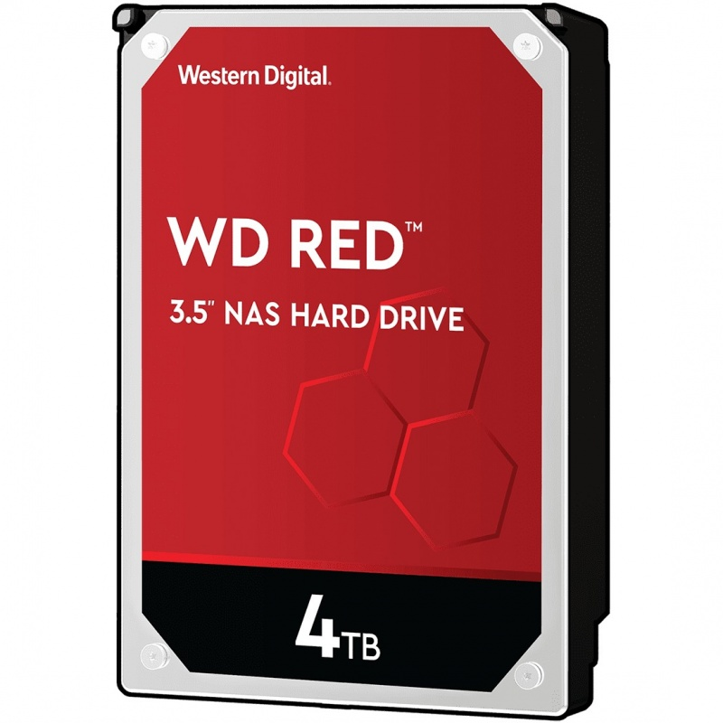Western Digital RED 4.0TB 256MB SATA3 Harddisk