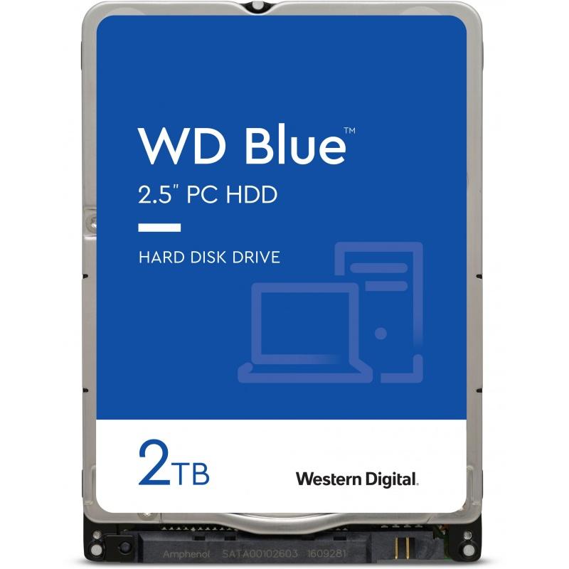 Western Digital 2TB WD20SPZX BLUE 5400RPM 128MB