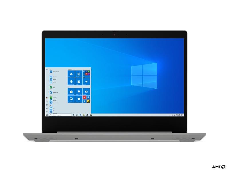Lenovo IdeaPad 3 Notebook 35,6 cm (14 inch ) 1920 x 1080 Pixels 4 GB DDR4-SDRAM 128 GB SSD Wi-Fi 5 (802.11ac) Windows 10 Home S Grijs, Platina
