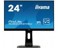 iiyama ProLite XUB2492HSU-B1 LED display 60,5 cm (23.8 inch ) 1920 x 1080 Pixels Full HD Zwart