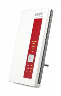 AVM FRITZ!WLAN Repeater 1750E International Rood, Wit