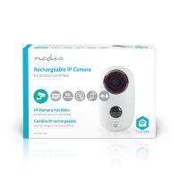 Nedis Oplaadbare IP Camera - Buiten - PIR Bewegingssensor - microSD - 6000 mAh