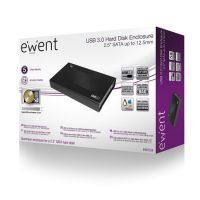 Ewent USB3.0 2.5 inch harde schijf behuizing tot 12.5mm HDD