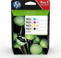 HP 963XL Origineel Zwart, Cyaan, Magenta, Geel 4 stuk(s)