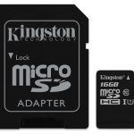 Kingston Technology Canvas Select flashgeheugen 16 GB MicroSDHC Klasse 10 UHS-I