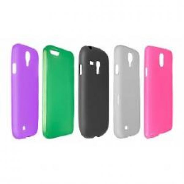 Silicon Case Samsung Galaxy S4 Mini (diverse kleuren)