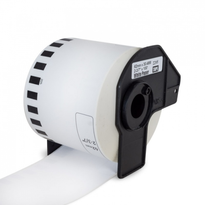 Brother DK-22205 compatible 62mm continue papiertape