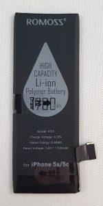 Iphone 5s / 5c Li-ion batterij - 3.8v 1700mHa