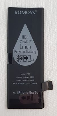 Iphone 5s / 5c Li-ion batterij - 3.8v 1700mHa