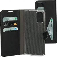 Mobiparts Wallet Case Samsung Galaxy S20 Plus Black